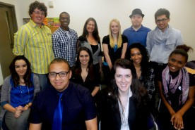 Staff of Coyote Student News spring 2013
