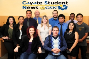 Coyote Student News Staff Fall 2013 1