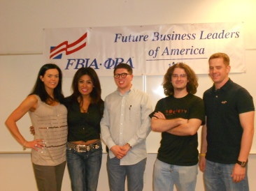 FBLA group leaders at CSN