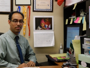 Alan Aleman working on DACA applications