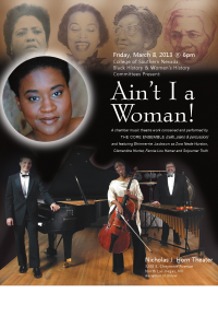 """Aint I a Woman"" production at Horn Theatre"