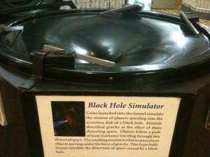Black hole simulator