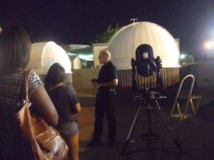 After show telescope viewing