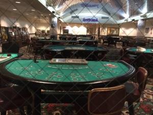 Coyote Casino where classes are held