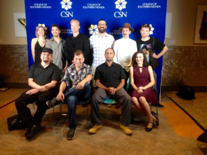 Filmmakers from the CSN program