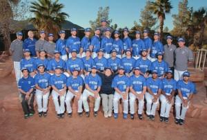 Coyotes Baseball Team Spring 2015